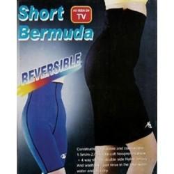 Pantaloni de Slabit cu Efect de Sauna Short Bermuda