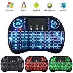 Mini Telecomanda cuTouchpad si Tastatura Qwerty Iluminata