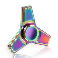 Jucarie Metalica Anti-Stres Fidget Spinner Multicolor