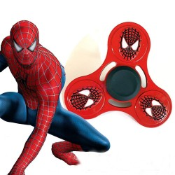 Jucarie Metalica Anti-Stres Fidget Spinner Spiderman Face