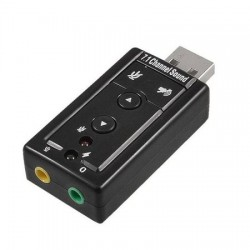 Placa de Sunet Usb Adaptor 3D Sound 7.1