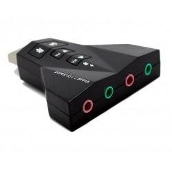 Placa de Sunet Usb Adaptor 3D Sound 7.1 PD 560