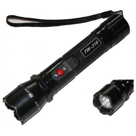 Electrosoc TW-318 in Forma de Lanterna  Include si Incarcator Auto