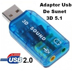 Audio Usb Adaptor 3D Sound 5.1