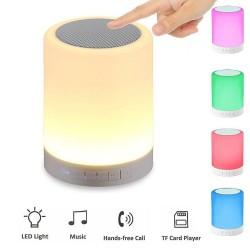 Boxa Bluetooth Iluminata Smart Music Light cu Slot de Card TF