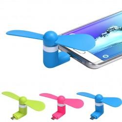 Mini Ventilator Pentru Tablete si Telefoane cu Micro Usb