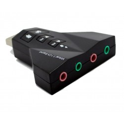 Placa de Sunet Usb Adaptor 3D Sound 7.1 PD 560