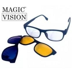 Ochelari Magic Vision de Condus Noaptea, pe Timp de Ceata sau Soare Puternic cu Protectie UV