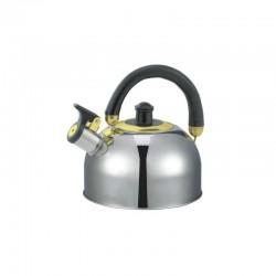 Ceainic cu Fluier din Inox Floria Zilan, Capacitate 2.5 Litri, ZLN-0474