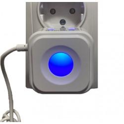 Incarcator Rapid Universal Usb cu 2 Porturi Luminate, Cablu Micro Usb si Lumina de Veghe Elworld